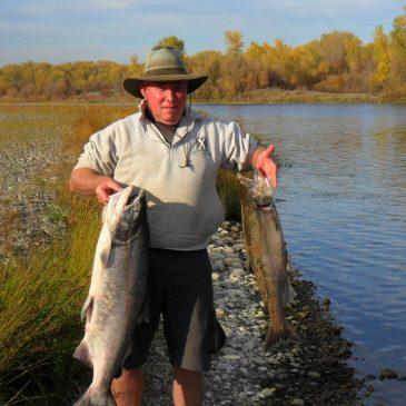 Sacramento River Salmon Still Biting
