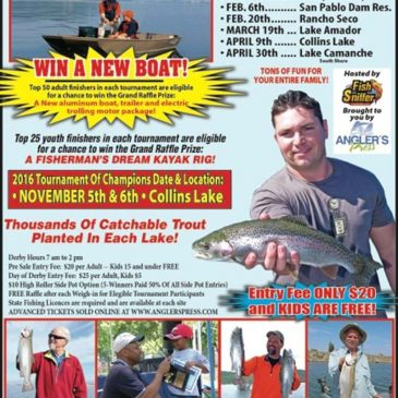 NorCal Trout Angler's Challenge Opens at San Pablo On Feb. 6