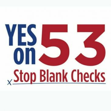 Vote Yes on Prop. 53 – Stop the Delta Tunnels!