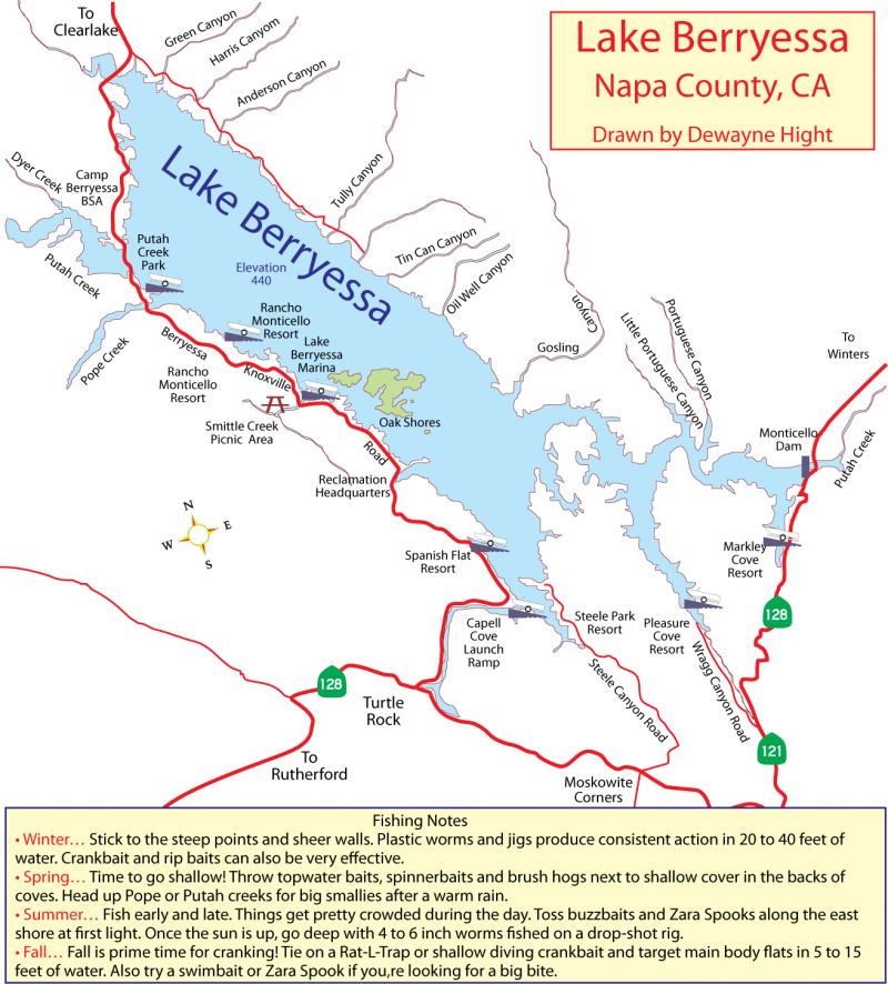 berryessa-reservoir-map