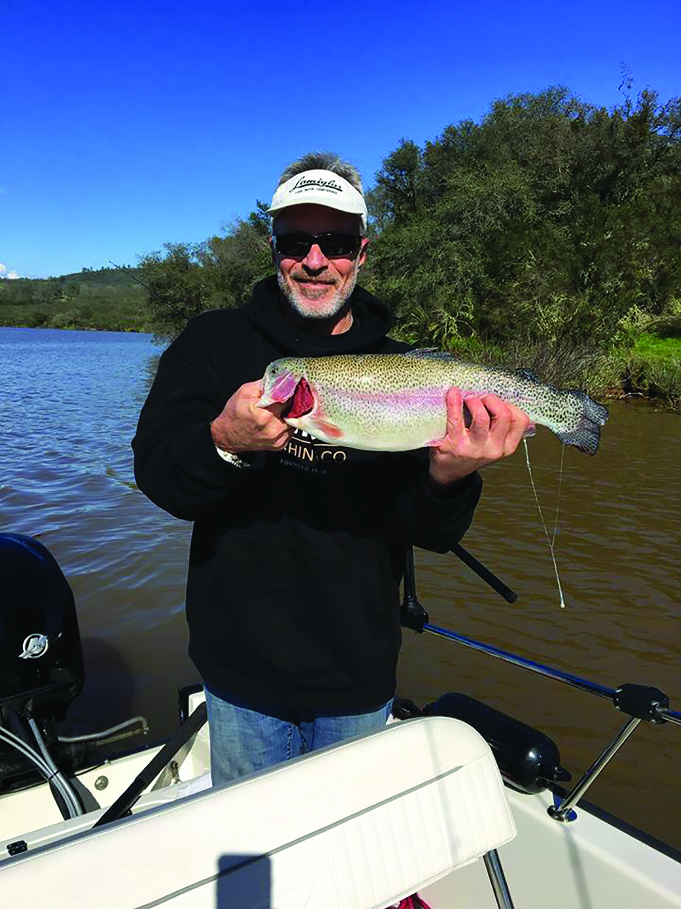 Lake trout report for Folsom lake fishing report