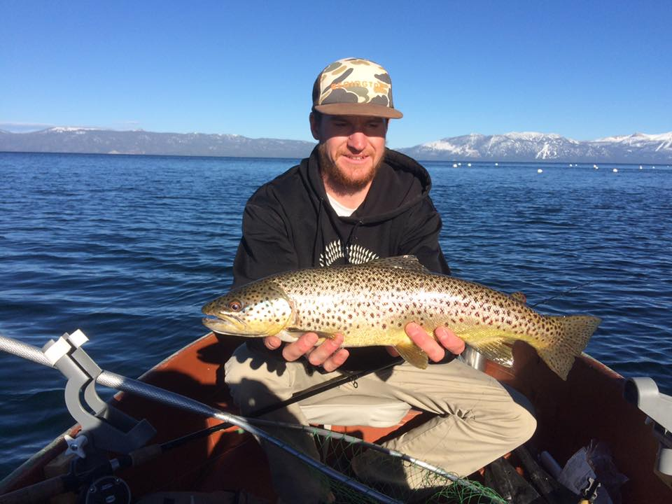 Late spring macks offer excellent action for South lake tahoe fishing charters