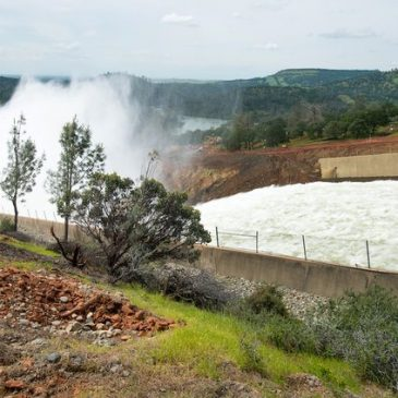 Group Files Lawsuit Against DWR Over Oroville Dam Records