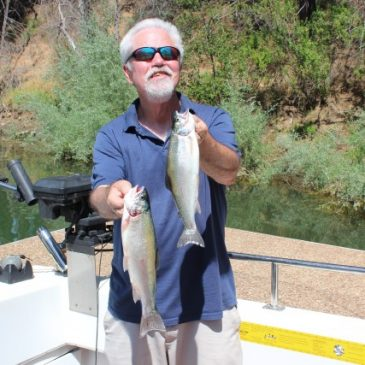 Open Water Trout And Crappie At Berryessa
