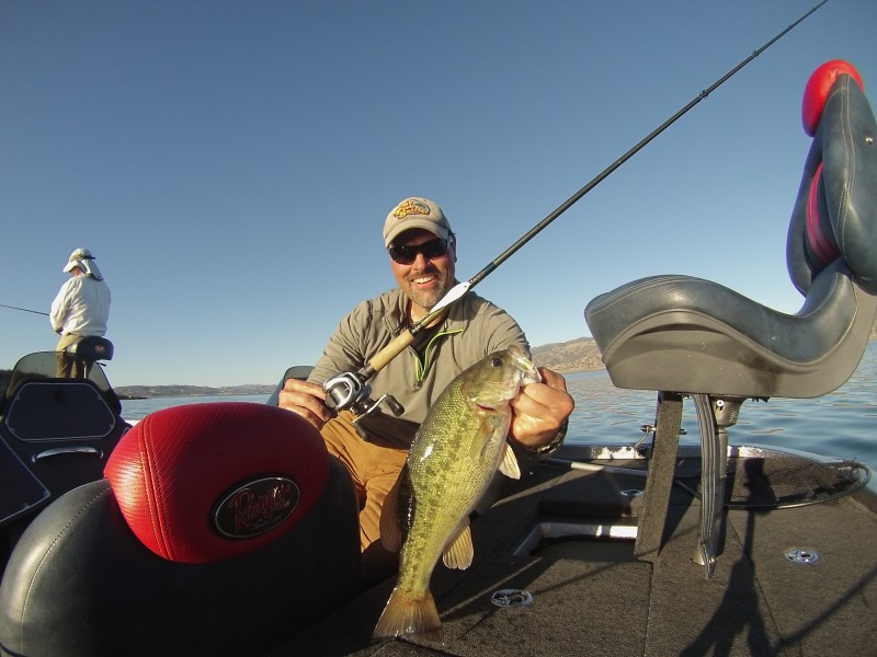 Fall is a fantastic time for bass fishing in both the California Delta and in our foothill reservoirs. Author Cal Kellogg caught this beautiful smallmouth while working a Duh! Spoon at Lake Berryessa during an October fishing adventure with California bass fishing legend, Larry Hemphill.