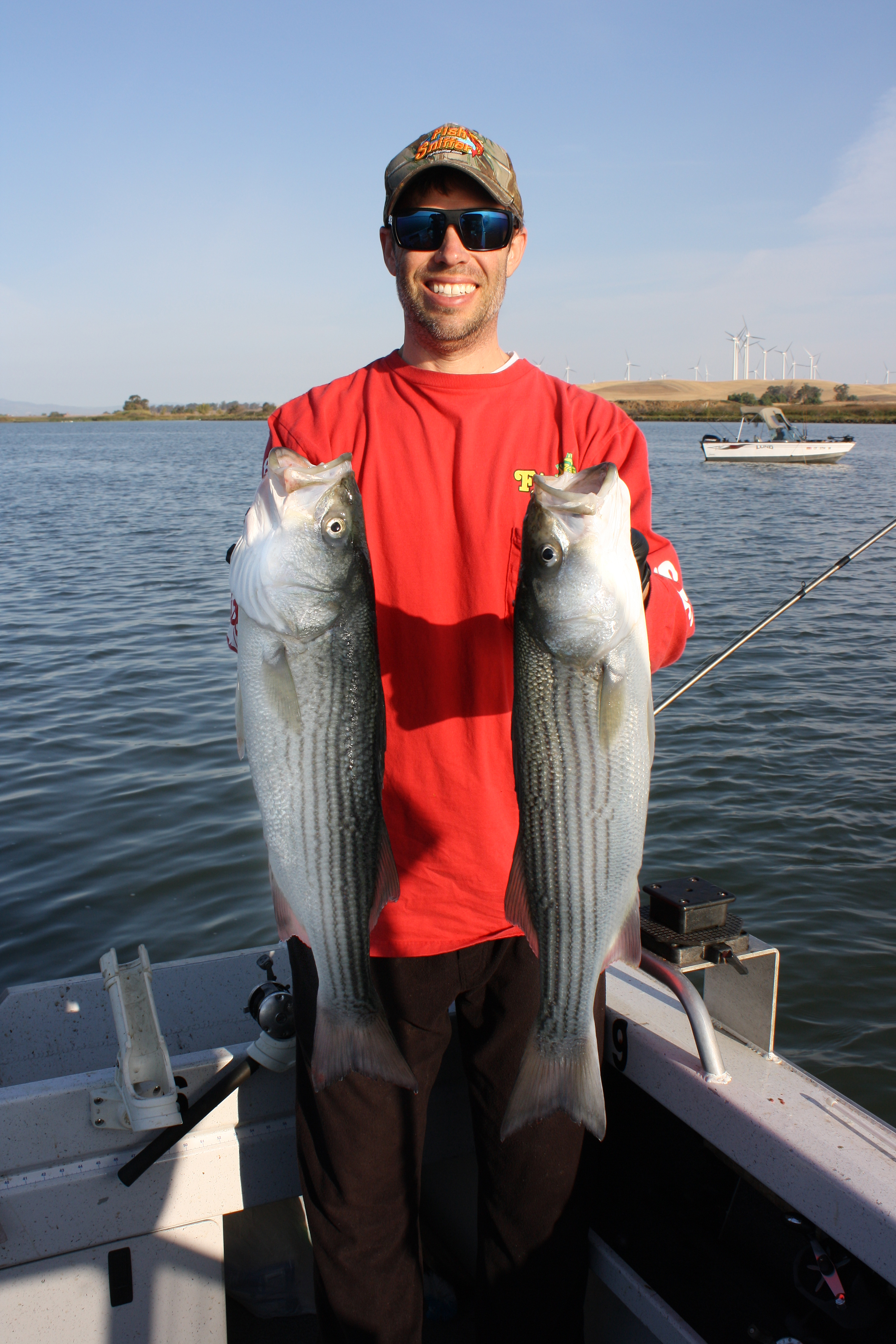 Stripers and sturgeon and salmon oh my for The fish sniffer
