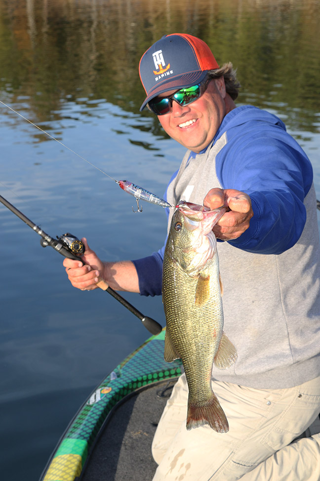 Monitor fall bait roundup for more bass for Tim horton fishing