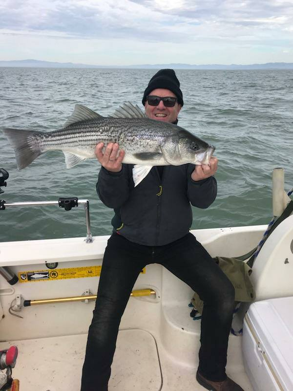 On The Hunt For West Delta Stripers With Captain Anthony ...