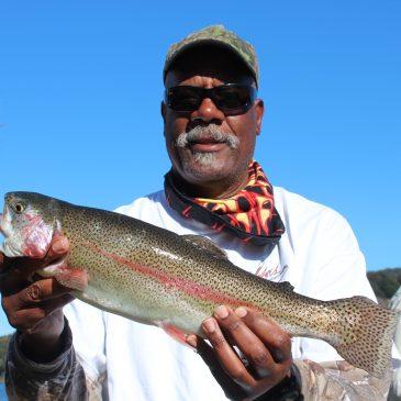 Trout Fishing Hot At San Pablo Reservoir NTAC