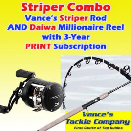 3-Year / 78 Issue Print Subscription w/ Striper Combo