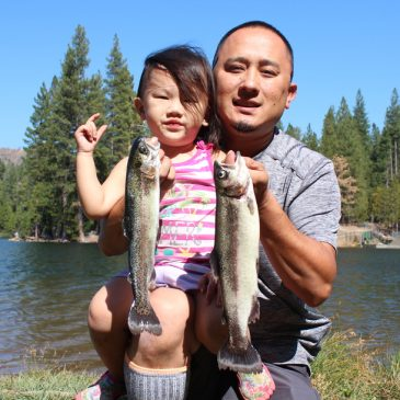 Rucker and Fuller Lakes Offer Contrasting Sierra Nevada Fisheries