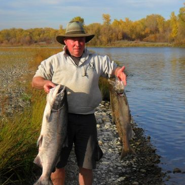 Sacramento River Salmon Still Biting