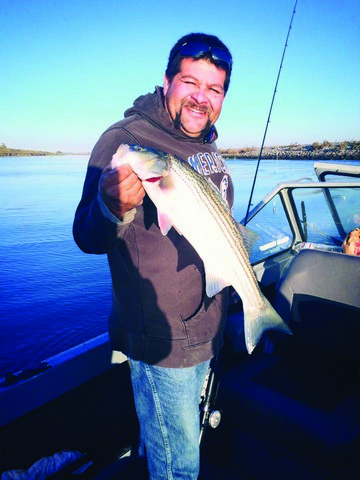 Bait Fishermen Find Striper Success In Cold Water