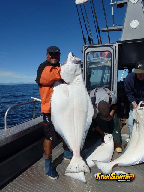 2 Ernie with halibut_web