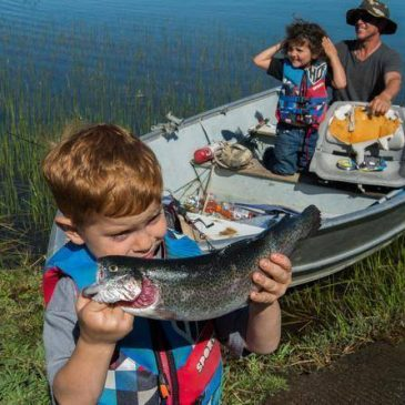 Compete For Trophy Trout At Rancho Seco Lake