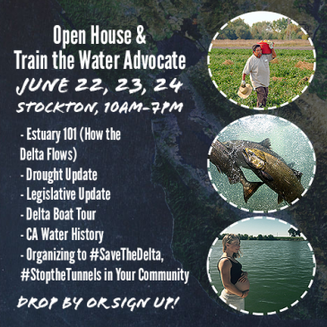 Action Alert: Tell CA Senators to Do the Right Thing for the Delta