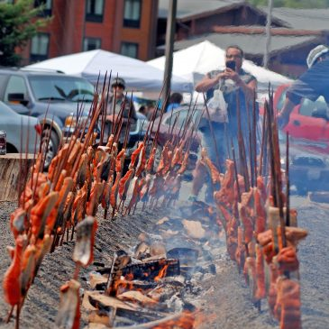 For first time in 54 years, salmon will not be served at Klamath festival