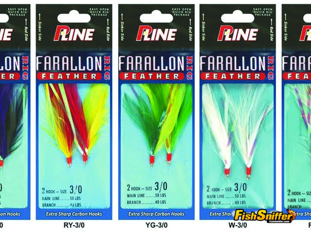 Over the years a lot of different brands of shrimp flies have come and gone. Today P-Line's Farallon Feathers set the standard for shrimp flies used here in California. They come in a variety of different colors and several different sizes to match any conditions you're likely to encounter.