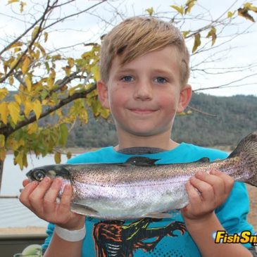 Collins Lake Yields Lots Of Holdover Rainbows During NTAC Championship