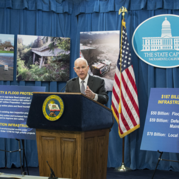 Jerry Brown seeks $437 million for flood control in wake of Oroville Dam crisis