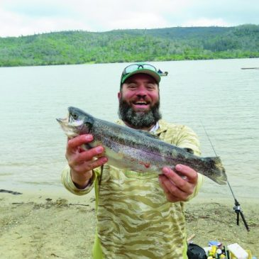 Fourth Annual Collins Lake Spring NTAC Trout Tourney Features Solid Fishing Despite Wind And Rain!