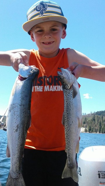 Trout Fishing In The High Sierras: French Meadows Reservoir!
