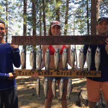 Stampede Is Full And The Kokanee Are Biting