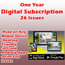 1 Year / 26 Issue Digital Subscription