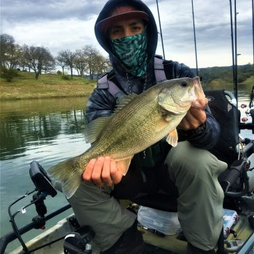 A Day on Lake Berryessa with Louis Cardenas of the Kayak City Fishing Team
