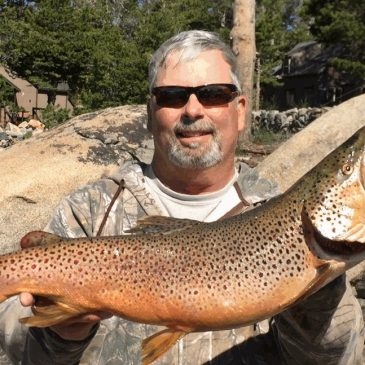 Caples Lake Yields Abundant Rainbows, Trophy Browns & Mackinaws