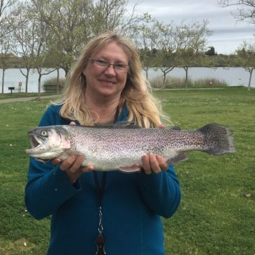 Shadow Cliffs Reservoir Offers Trout, Catfish and Bass