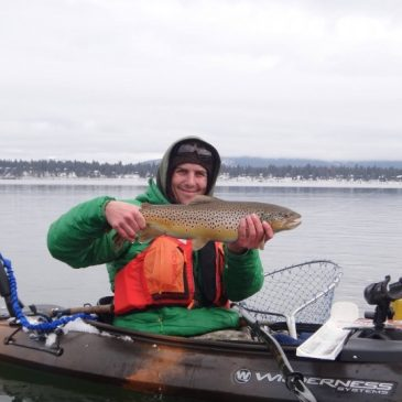 Tactics for Catching Trout from a Kayak