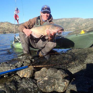 Clear Lake Kayak Catfish Hunt!