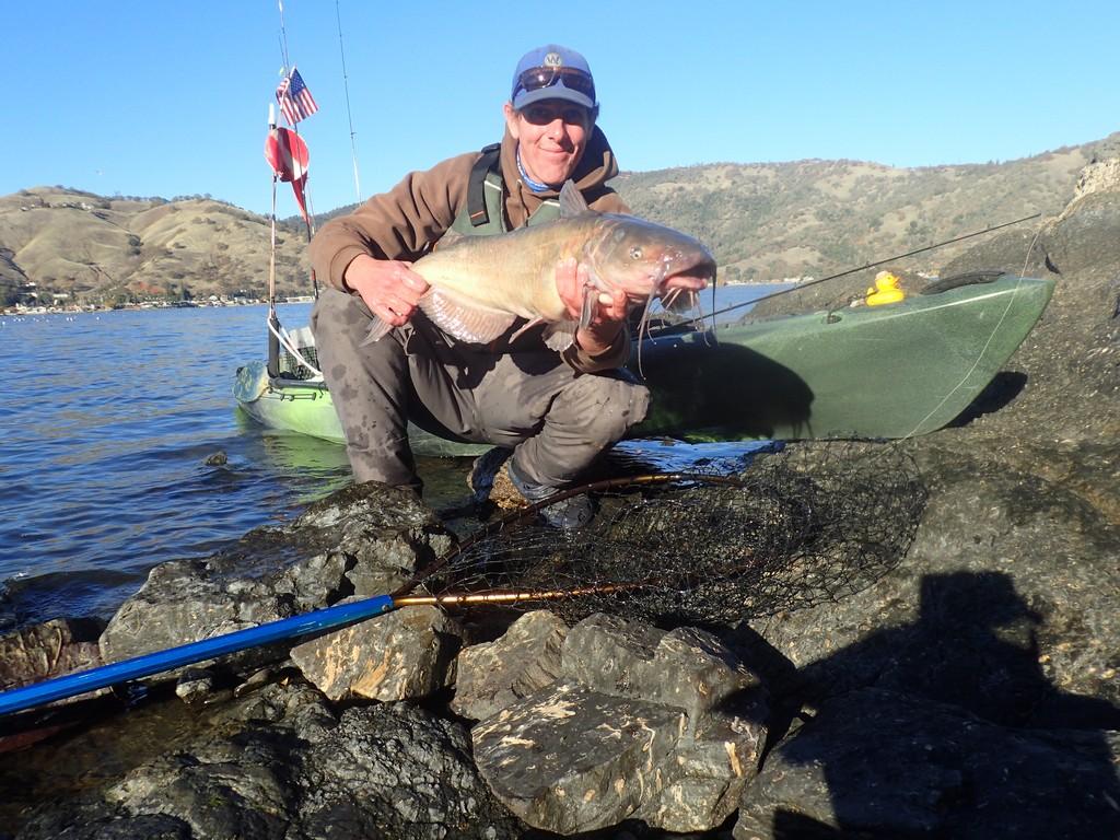 Clear Lake Kayak Catfish Hunt