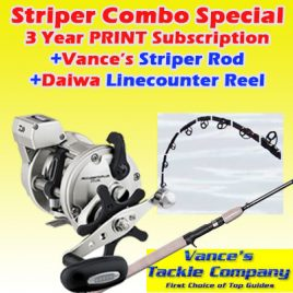 3 Years / 78 Issue PRINT Striper Combo Subscription