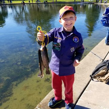 Fishing in the City with Kids
