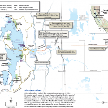 Fishermen, Tribes and Conservation Groups Challenge Sites Reservoir Project