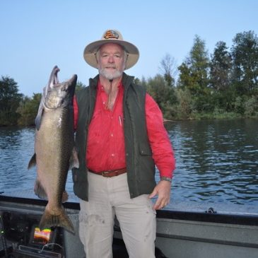 Sacramento River Salmon Starting to Heat Up!