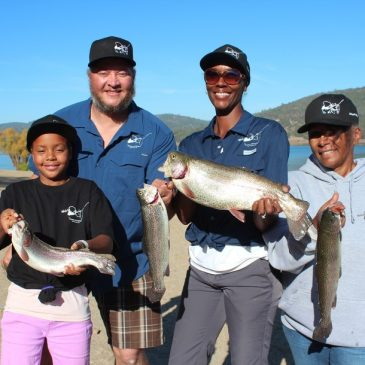 Anglers Bag Three Trout Over 7 Pounds at Collins Lake NTAC Event