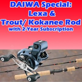 Daiwa Special Subscription Package