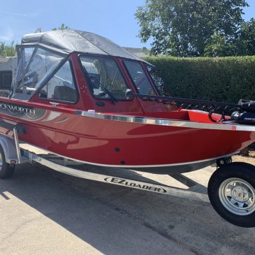 Cal Kellogg's 18' Duckworth Advantage Sport Is For Sale!