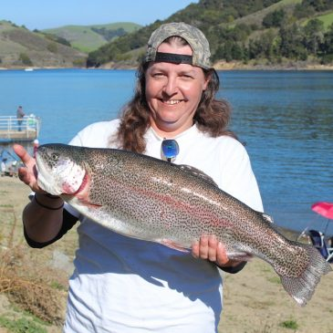 San Pablo Reservoir Opens with Great Weather and Trout Fishing