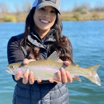 Stormy Weather Trout Action On The Sacramento!