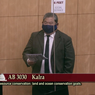 California Assembly Bill 3030 Passes Through Senate Natural Resources and Water Committee