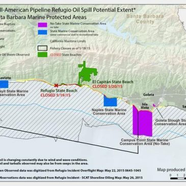 Conservation Groups Oppose Exxon's Plan to Restart Offshore Rigs Idled by Refugio Oil Spill