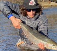 Fly Fishing For Steelhead On The American River