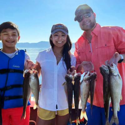 Lake Tahoe - Mackinaw Bite Is Hot, Shasta Lake - Kokanee Salmon Fishing Hot Spot